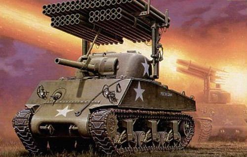 (图2:历史上的t34管风琴多管火箭炮)