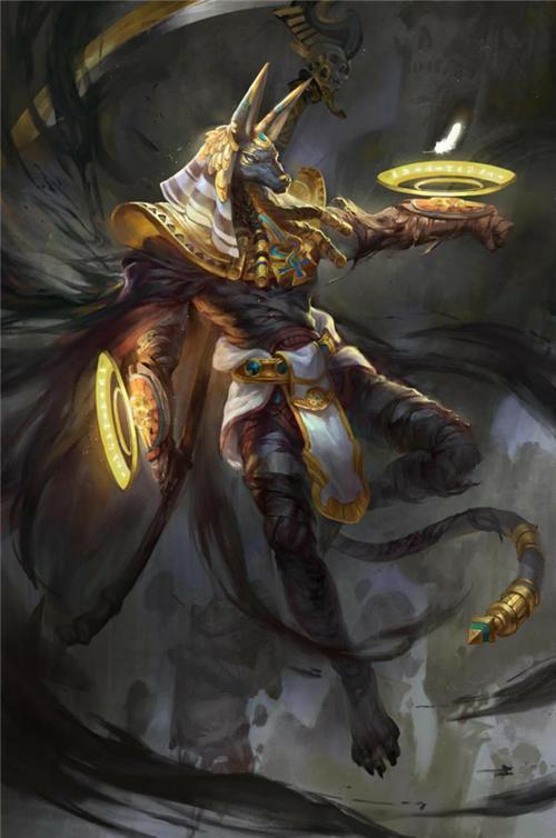 [永恒文明] 《永恒文明》英雄库之阿努比斯 详解怎么玩
